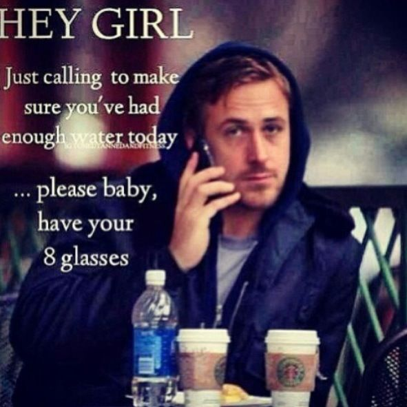 That interfere, Hey girl where your drink